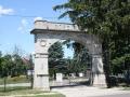 Rosemont Park Cemetery entrance gate