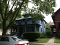 Very blue American 4-square at 5903 W Midway