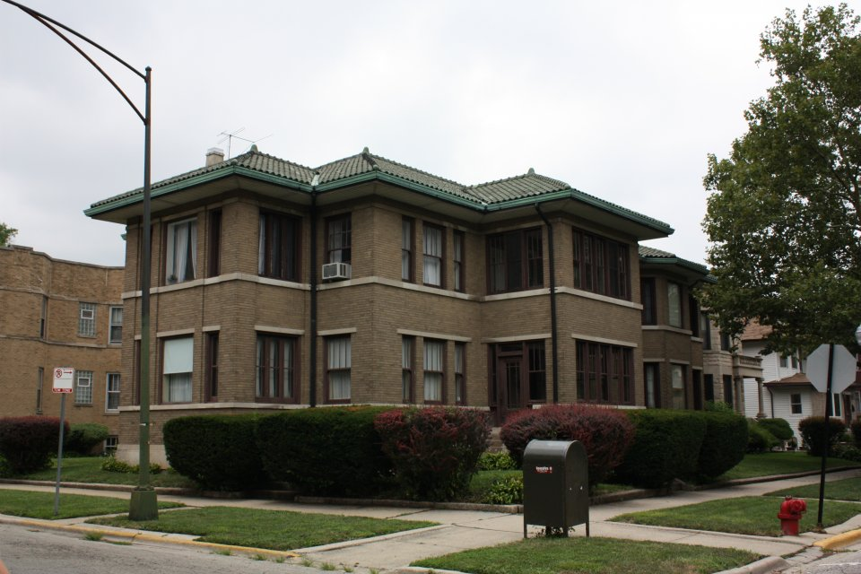 5900 W Adams 1924 James Burns Prairie 2-flat