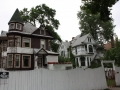 A Pair of Queen Anne Victorian home on the 300 block of North Parkside