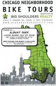 Tour of Albany Park 2008 Poster