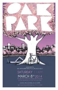 Tour of Oak Park 2014 Poster