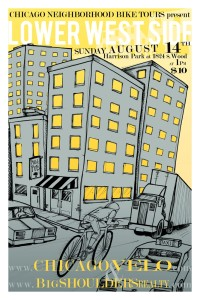 Tour of Lower West Side 2011 Poster by Ross Felton