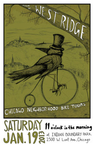 Tour of West Ridge 2013 Poster