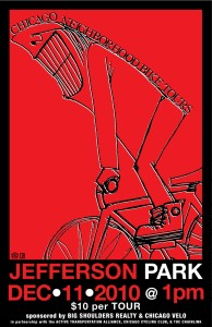 Tour of Jefferson Park 2010 Poster by Ross Felton