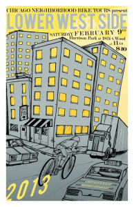 Tour of Lower West Side 2013 Poster by Ross Felton