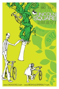 Tour of Lincoln Square 2011 Poster by Ross Felton