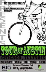 Tour of Austin 2009 Poster