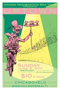Ross Felton's Tour of Uptown 2011 Poster