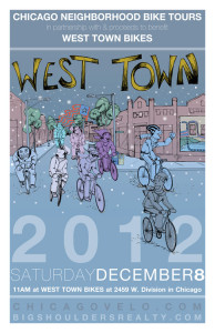 Tour of West Town 2012 Poster