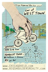 Tour of West Town 2011 Poster