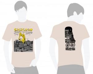 Giant City Cyclist T-Shirt