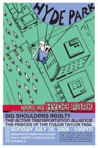 Tour of Hyde Park 2009 Poster by Ross Felton