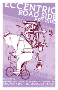 Tour of Eccentric Road Side Art 2012 Poster