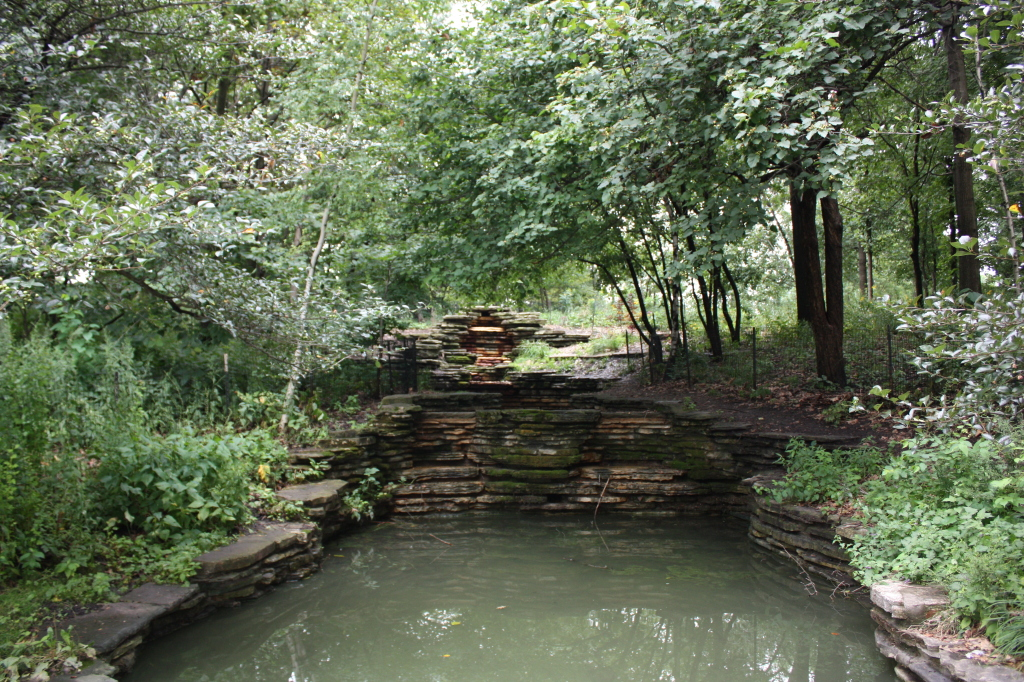 Columbus Park Waterfalls