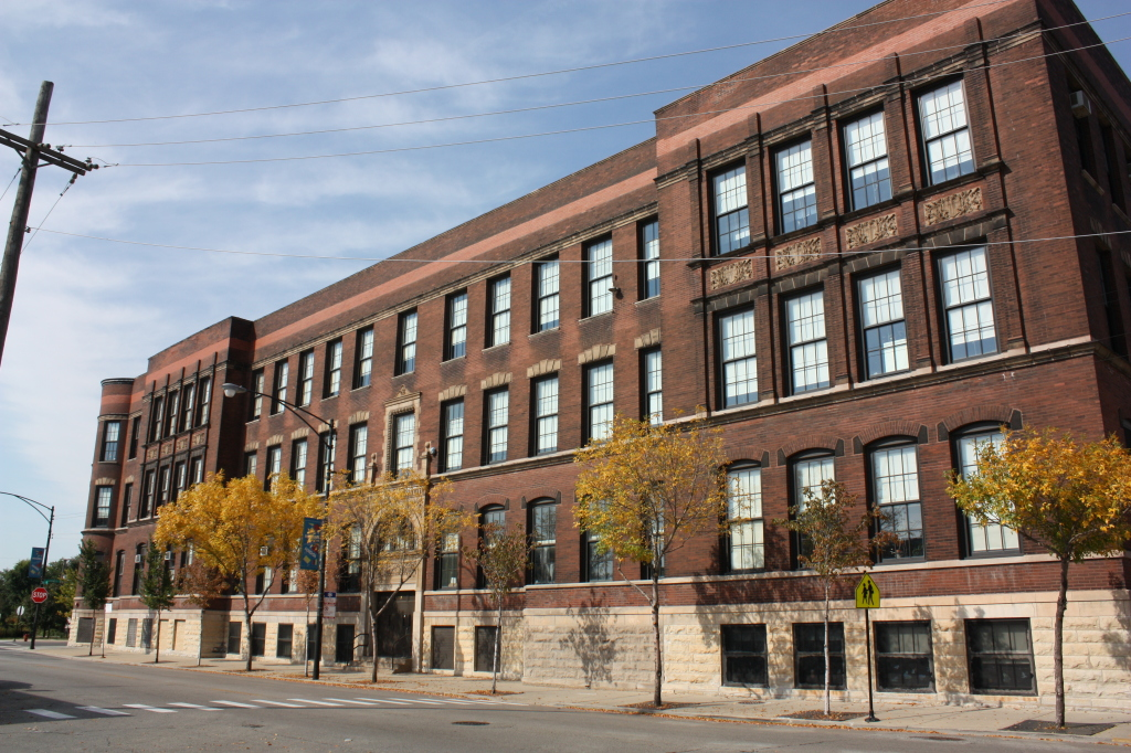 Charles N. Holden School at 1104 W 31st St