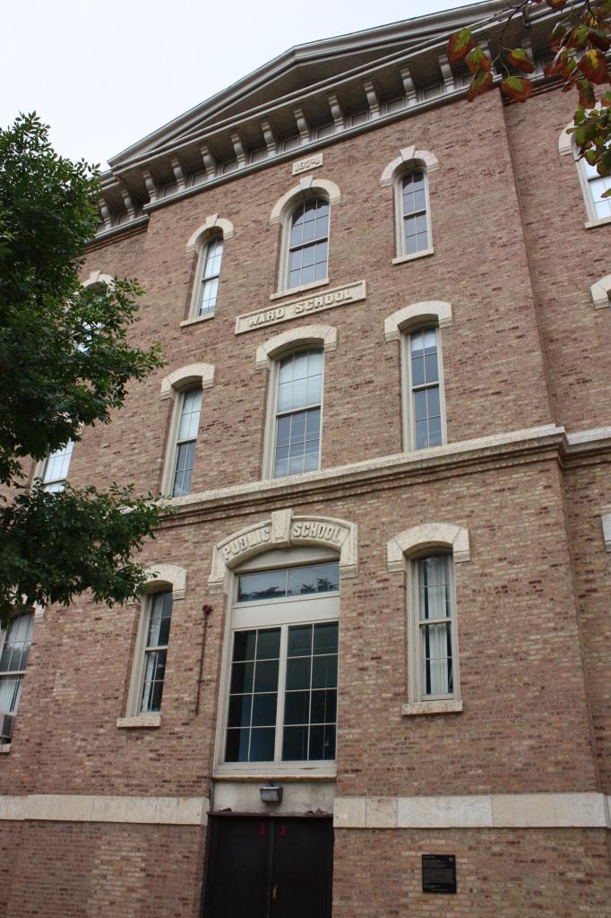 James Ward School – original building