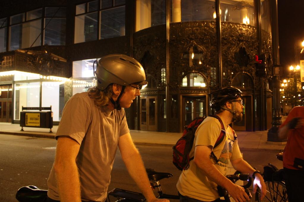 Night Loop research ride