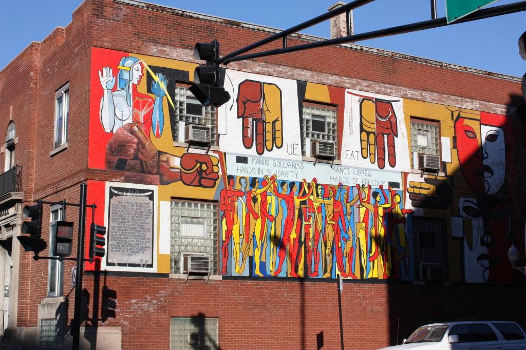 Mural at Monroe and Ashland