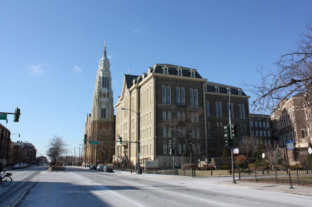 Holy Family Church and St. Ignatius College Prep