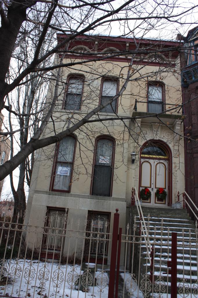 Iram Nye House at 1535 W Adams St, an 1874 Greystone
