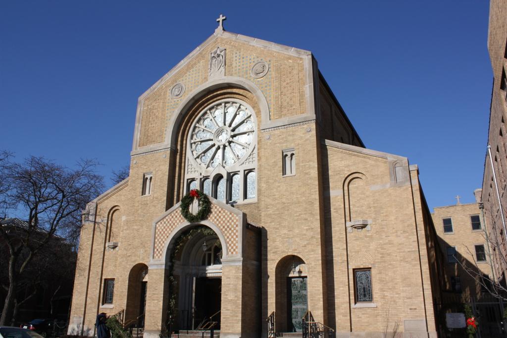 Our Lady of Pompeii Roman Catholic Church front