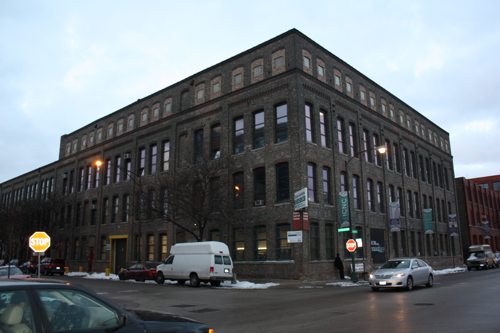 Wolff Manufacturing Company, currently the ICNC at 2000 W Fulton St