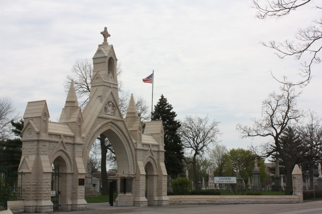 Calvary Cemetery at 401 Chicago