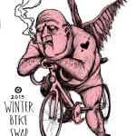 Winter Bike Swap 2015 Poster