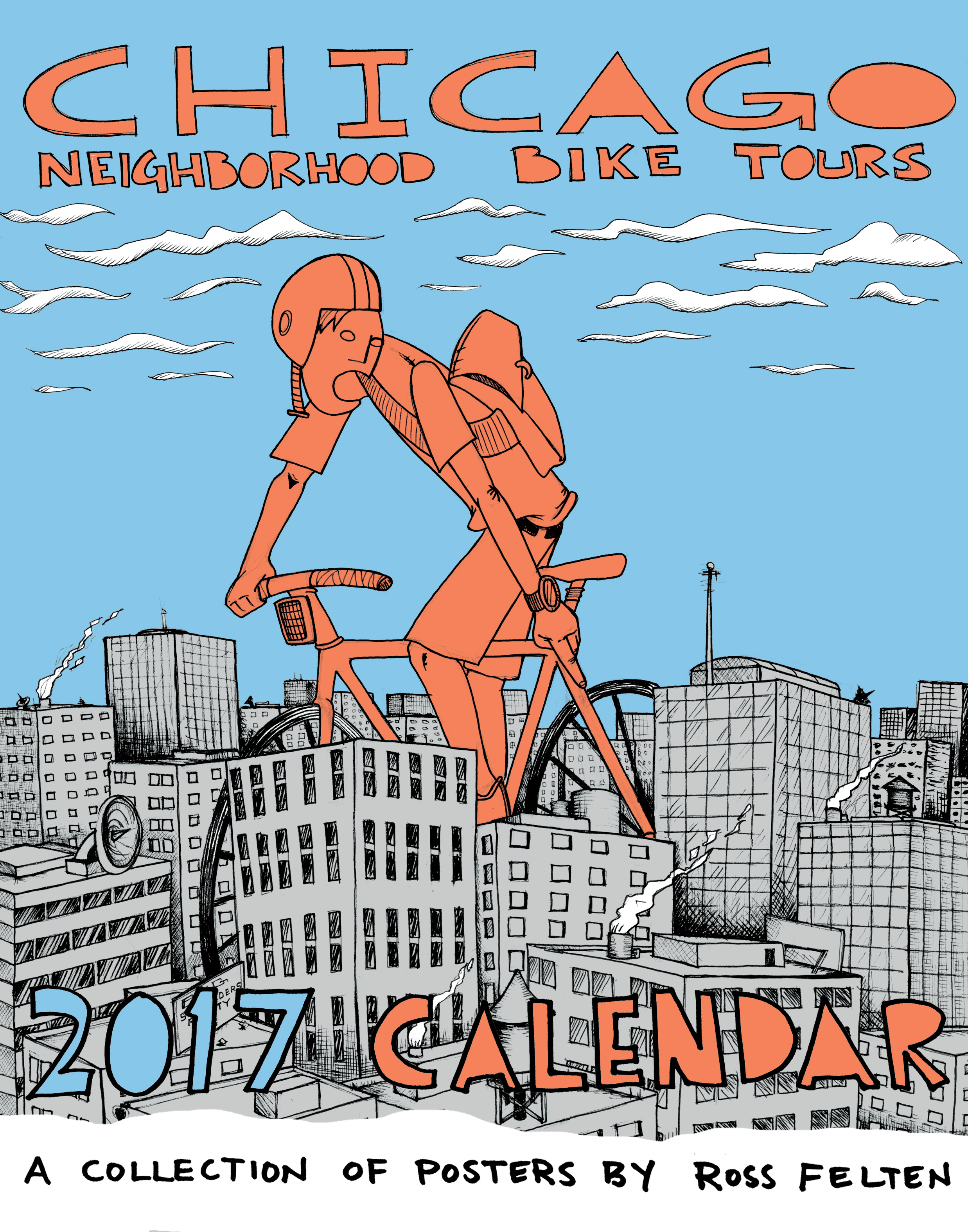 Chicago Neighborhood Bike Tour 2017 Calendar