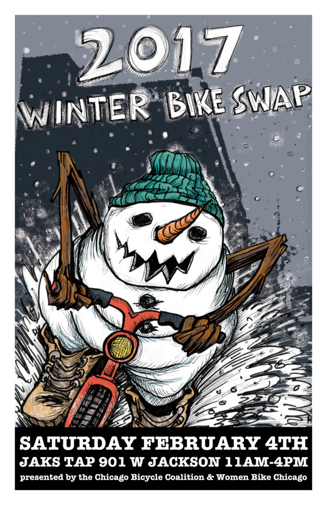 2017 Winter Bike Swap Poster