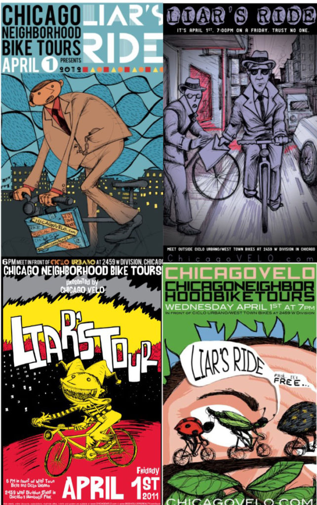 Liar's Ride Collage
